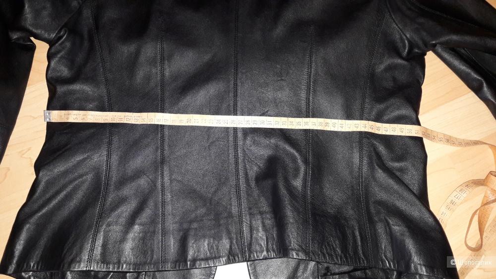 Пиджак кожаный р. 48 (новый), Турция