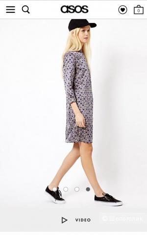 Платье Esprit, EU 36, хлопок + шелк.