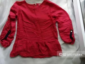 """Блузка с баской  """"Camaieu"""", размер 42-44, б/у"""
