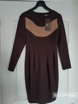 Платье LA VIDA RICA коричневого цвета 42 размера