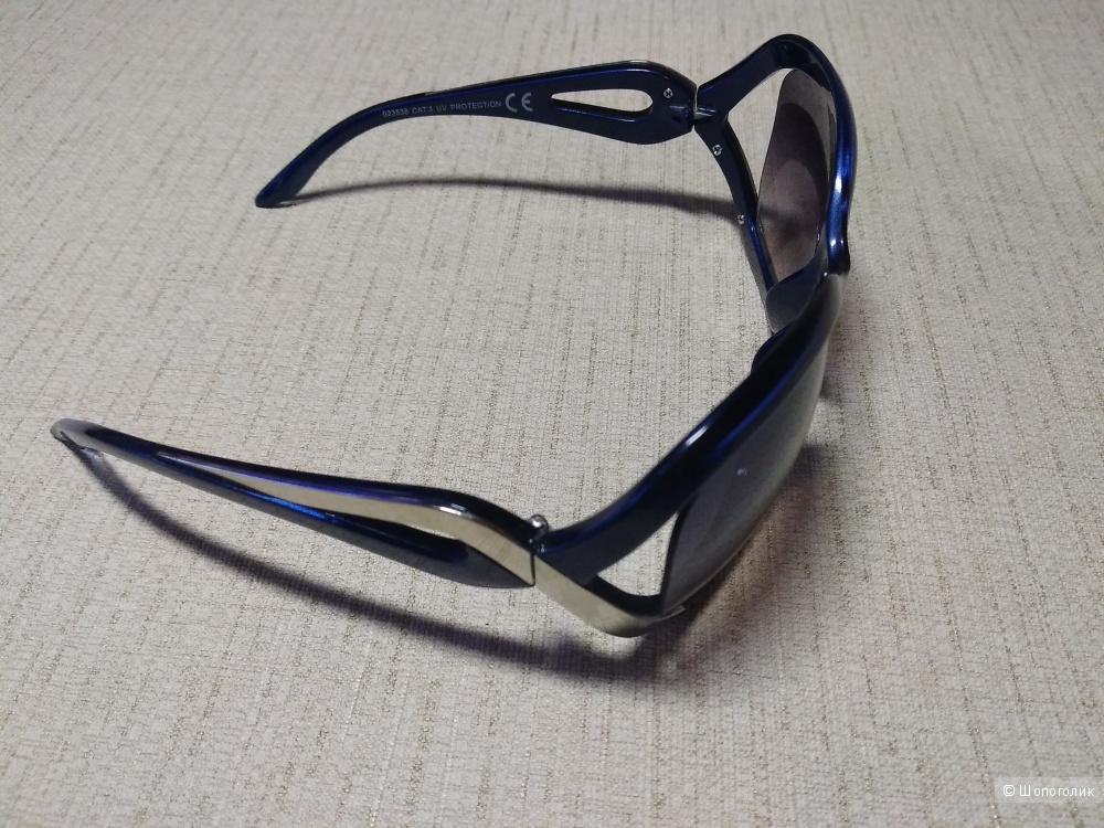 Очки Migura. Цвет: синий, серебристый, черный. Состав: пластик,металл