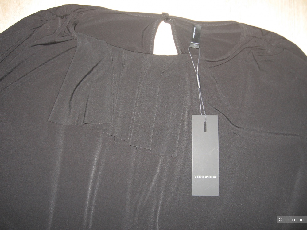 Vero Moda новое черное платье оверсайз размер L
