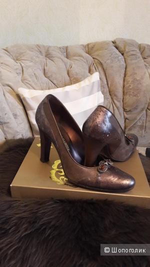 Туфли VERDECCHIA&MAINQUA, Италия, размер 40, кожа