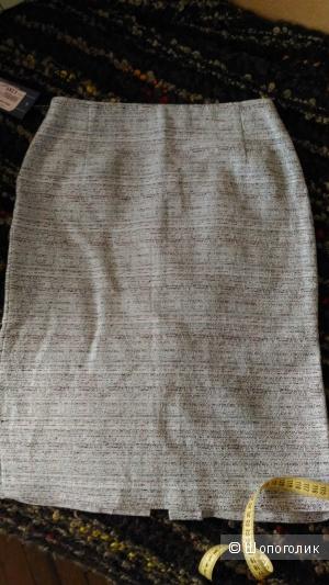 Льняная юбка, размер 44