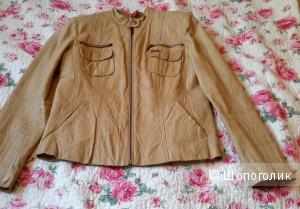 Кожаная куртка H.I.S Jeans размер XL