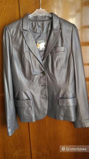 Куртка кожаная Carnelli, размер 42