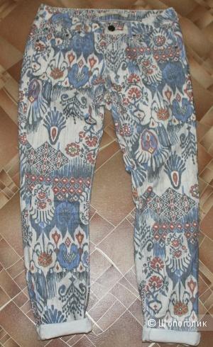 Цветные джинсы ZARA WOMAN,размер 42-44