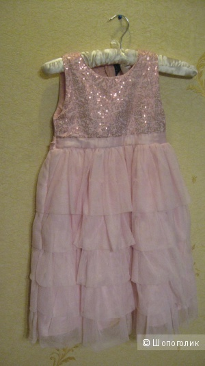 Нарядное платье для принцессы So La Vita на 5-7 лет.