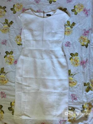 Льняное платье F&F, размер 42