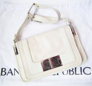 Banana Repablic, сумка клатч кожаный