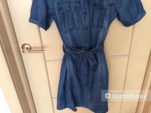 Massimo Dutti джинсовое платье 44 р-р