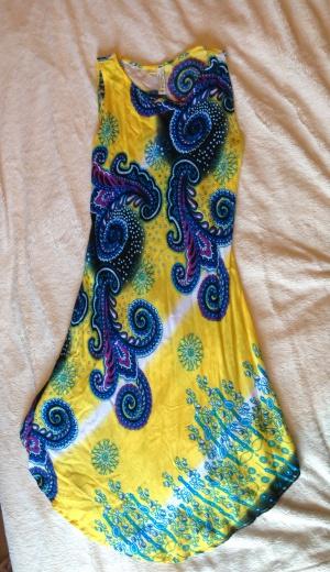 Летний сарафан, Yina Silk, размер М