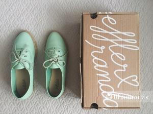 Обувь кожаные эспадрильи Loeffler Randall US7 (37 размер)