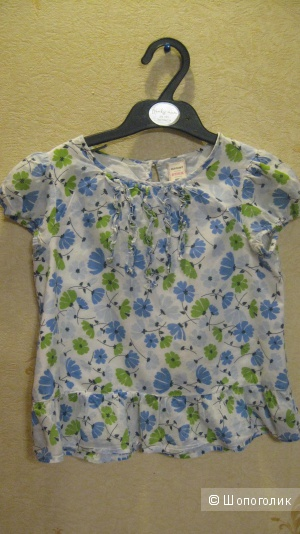 Нежнейшая блузка для девочки Old Nave 5-6 лет