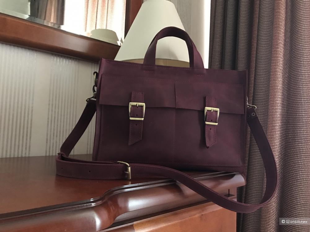 Кожаная сумка. Эксклюзив