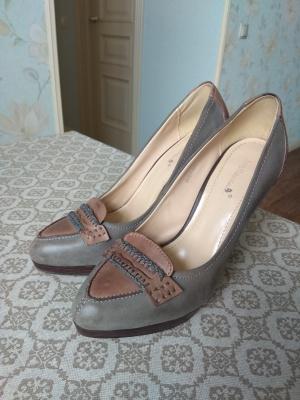 Кожаные туфли BigRope р-р 37-38