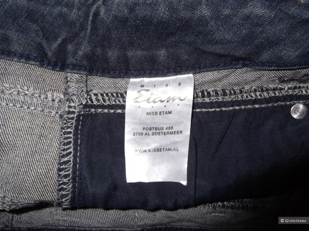 Юбка джинсовая ETAM, маркировка 38 EUR