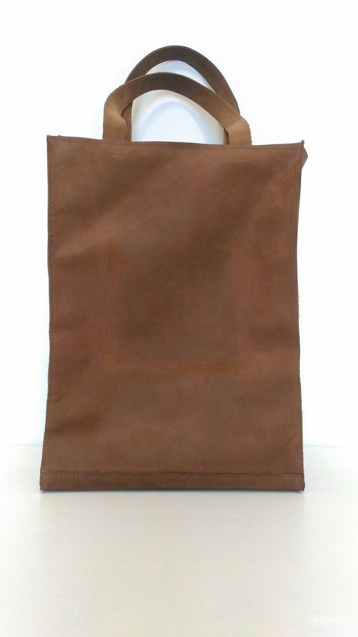 Большая кожаная сумка
