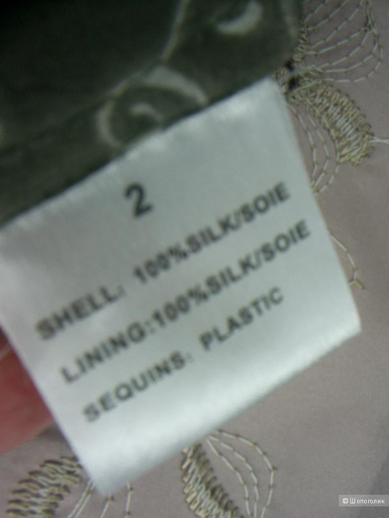 Юбка 100%-натуральный шелк от Nougat р 44-46.