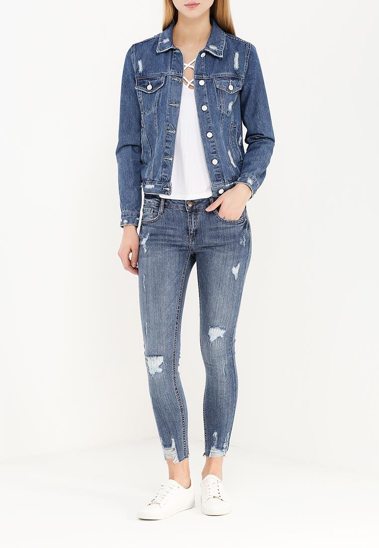 Куртка джинсовая Jennyfer размер S (42-44) новая