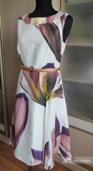 Платье из льна, размер М