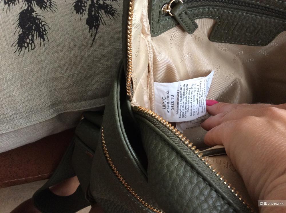 Рюкзак Liu Jo оливкового цвета