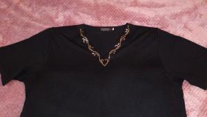 Блузка = футболка, размер 54-58, Корея