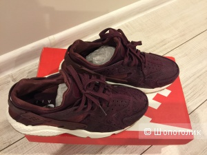 Женские кожаные кроссовки Nike Air  37-37,5 размер легендарная модель Huarache