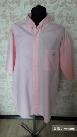 Ralph Lauren: хлопковая рубашка на большого дядю, оригинал, XL