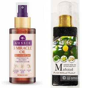 Два отличных масла для волос (лечение и восстановление)