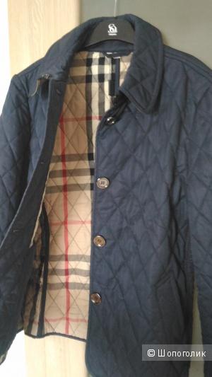 Легкая стеганая новая куртка Burberry 46-48