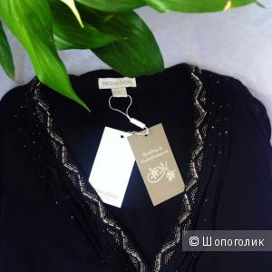 Нарядная блузка вышивка бисером Monsoon (44-46 размер)