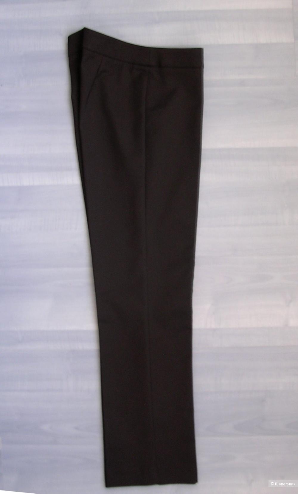 Брюки черные укороченные стретч Mango. 46 размер
