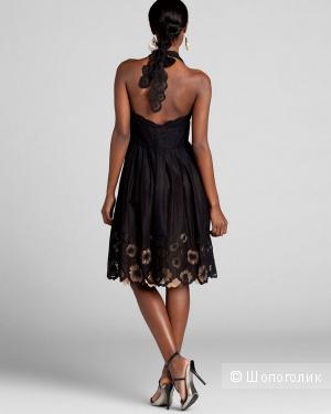 Catherine Malandrino платье с выбитым кружевом р.44