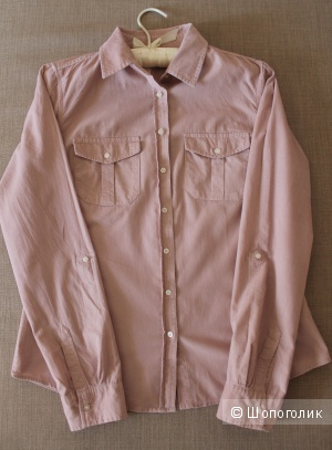 Рубашка из микровельвета Colin's, размер М