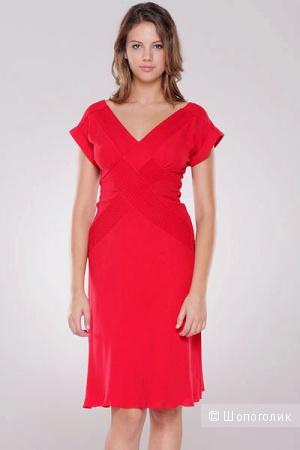 Diane Von Furstenberg шелковое платье р.44