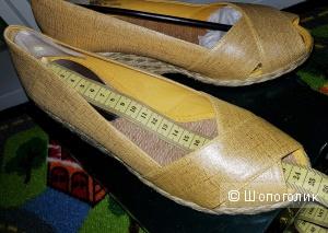 LAUREN Ralph Lauren Cecilia Marigold  7 size обувь 37 размер