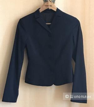 Пиджак летний темно синий, 42-44 р