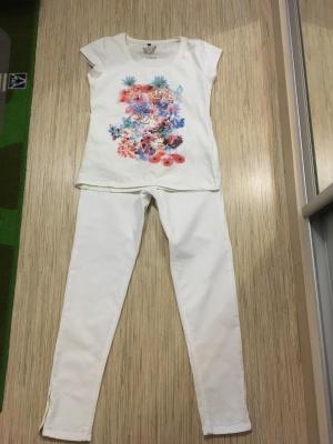 Джинсовые брюки Zara, размер 44