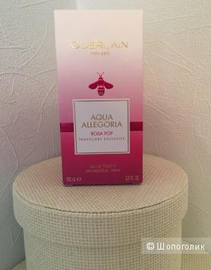 Guerlain aqua allegoria rosa pop женский