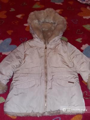 Куртка для девочки ,ZARA, р.18/24 мес.
