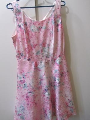 Яркое летнее платье  . Китай. 46 размер