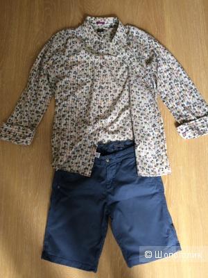 Рубашка в стиле бойфренд Paul  Smith, р-р 44 - 46