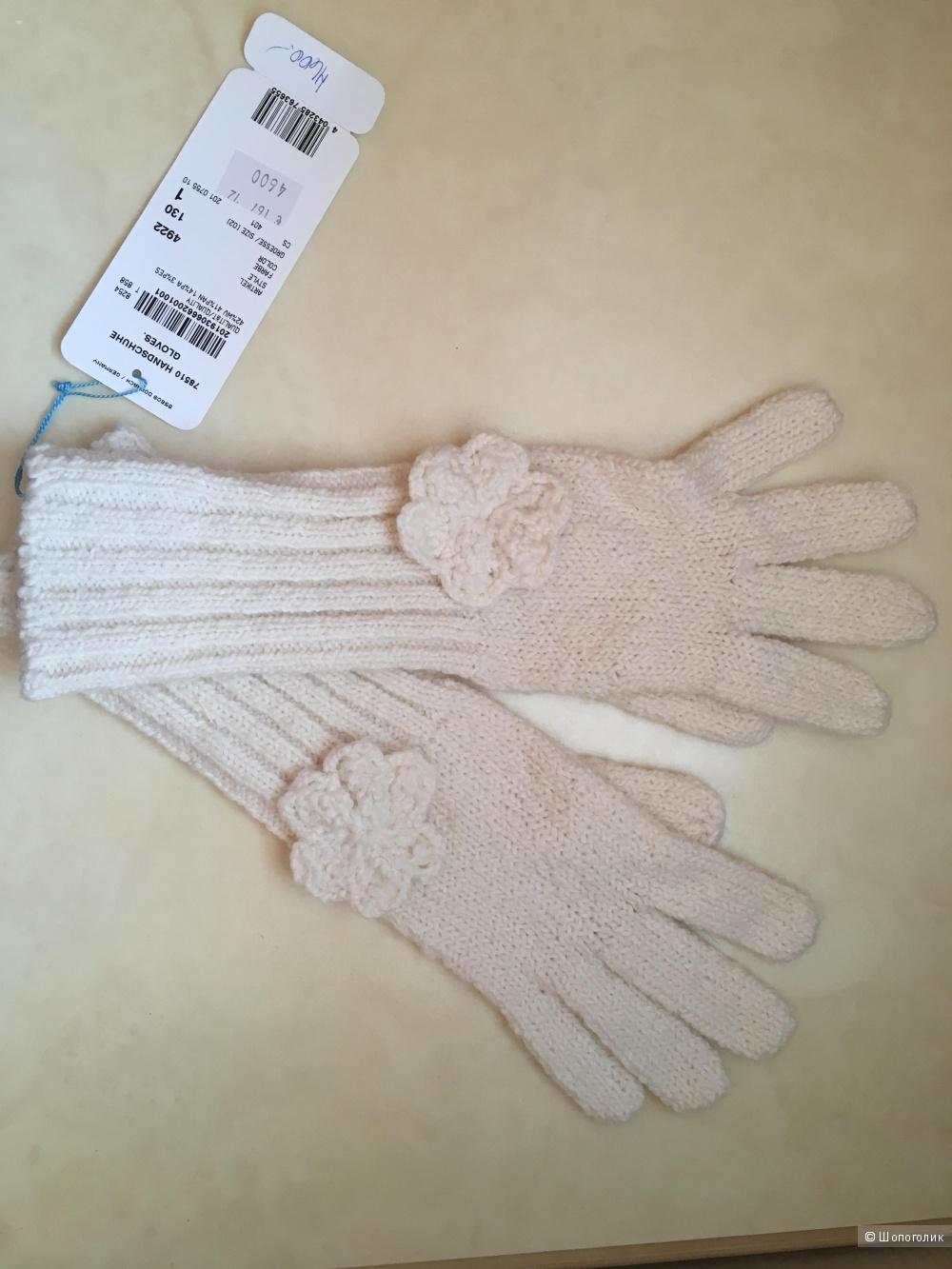 EscadaSport Новые шарф и перчатки ручной вязки