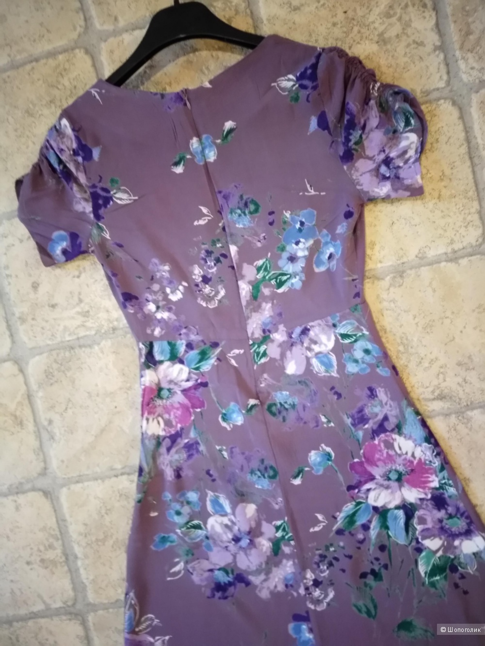 Летнее платье - длинное, в пол, 42 - 44 размера, от A-studio.