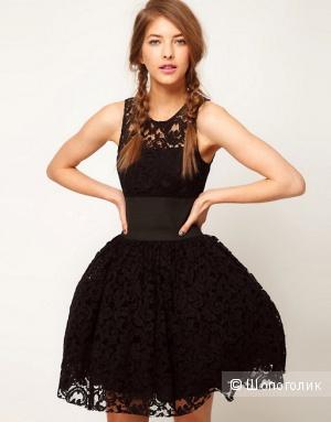 Роскошное кружевное платье Asos UK8