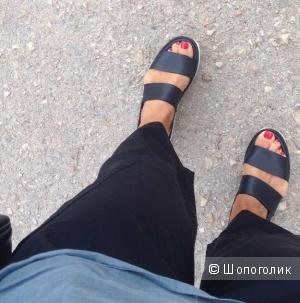Кожаные сандалии COS, размер 38