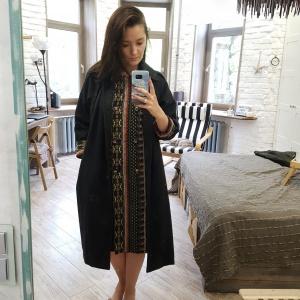 Пальто шерстяное азиатского бренда Aporia, 42-46 размер (маркировка размер М)