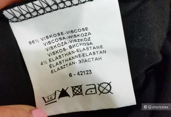 Трикотажная мини-юбка хлопок 40-42 р-р
