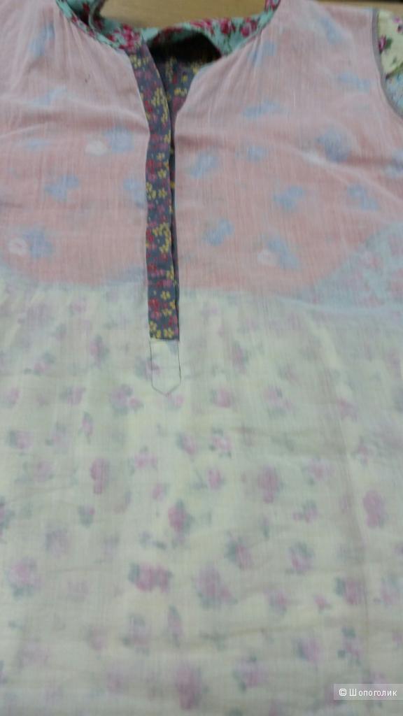 Хлопковая летняя блуза Dream бохо-стиль 44-46 р-р